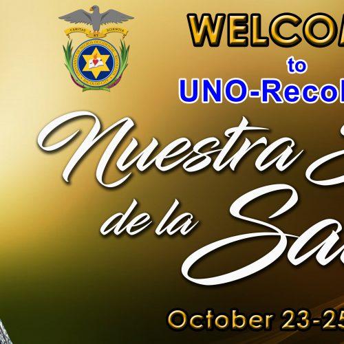 Welcome Nuestra Senora dela Salud01