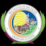 Seal of the UNO-R Recoletos de Bacolod Graduate School
