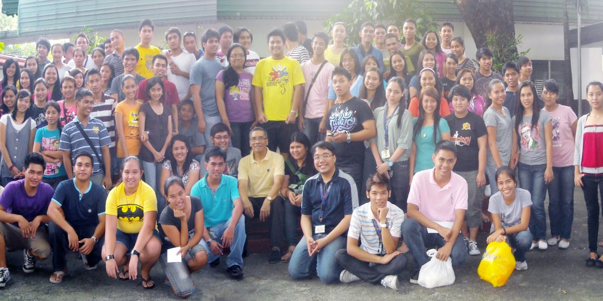 Student Leaders with Rev. Fr. Cornelio E. Moral, OAR