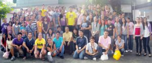 Student Leaders with Rev. Fr. Cornelio E. Moral, OAR