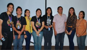 Masscom Interns with Cong. Teddy Casiño