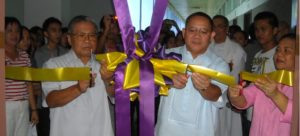 Fr. Peligro and Fr. Buñao with Dean Pepito