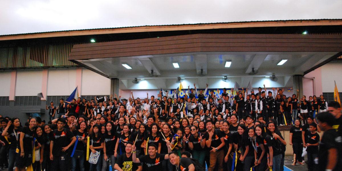 College of IT won in Cheerdance