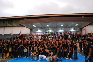 College of IT won in Cheerdance