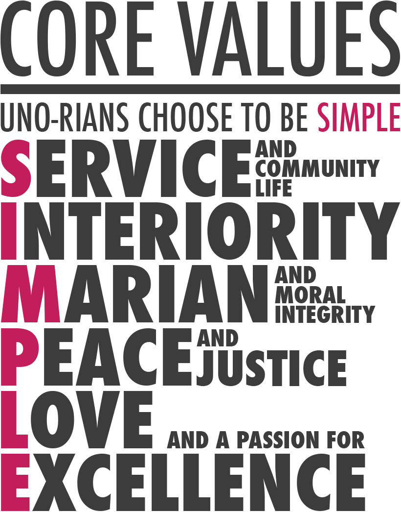 UNO-R Core Values