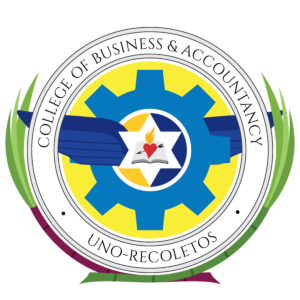 Seal of the UNO-R College of Business & Accountancy