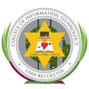 Seal of the UNO-R College of Information Technology