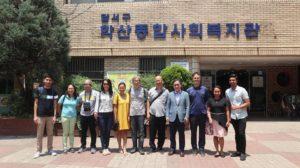 23 KEIMYUNG COLLEGE UNIVERSITY STUDENTS VISIT UNO-R