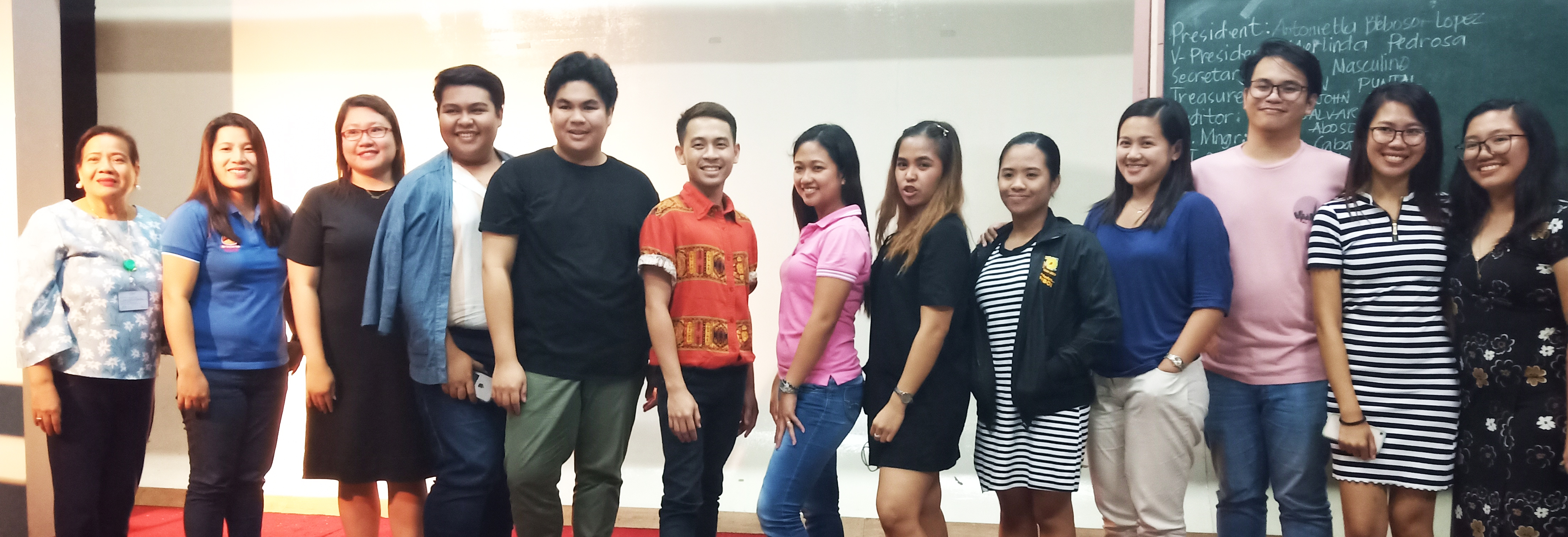 MASS COMMUNICATION ALUMNI ELECT OFFICERS