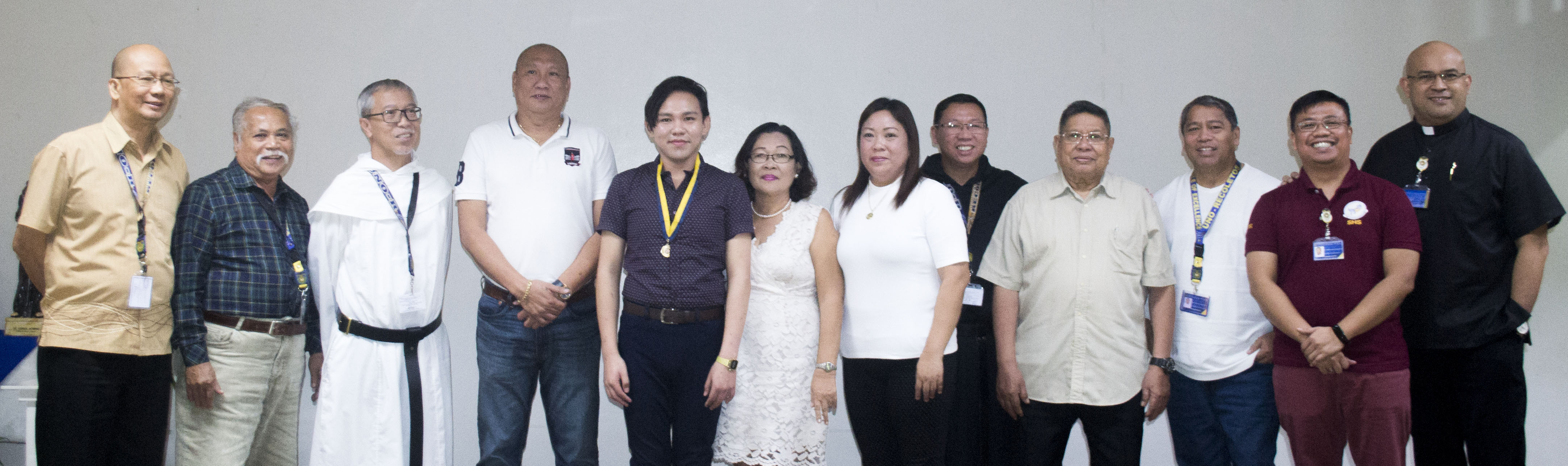 UNO-R RECOGNIZES CAMHS ALUMNUS